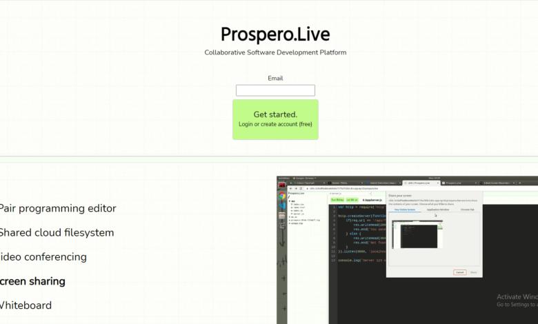 prospero.live