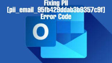 [pii_email_95fb429ddab3b9357c9f] Error Code